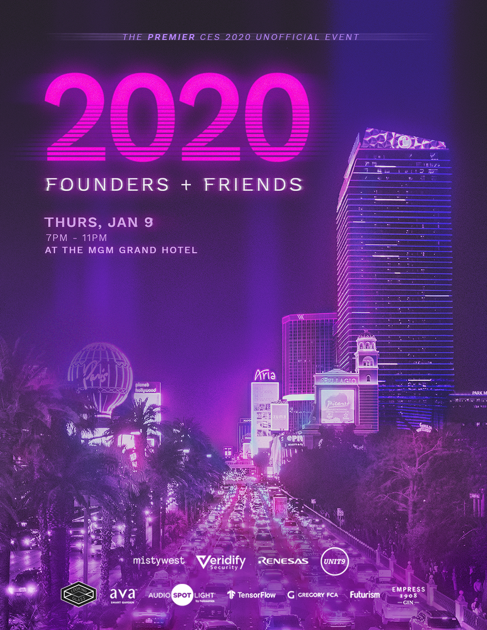Founders and Friends 2020 at the MGM Grand Hotel in Las Vegas