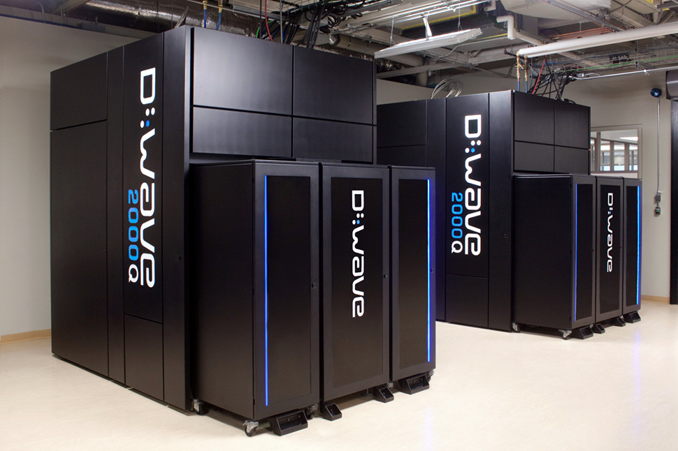 D-Wave Systems' quantum computers